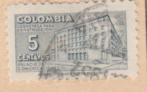 Colombia Postal Tax 1948 5c Fine Used A8P55F94