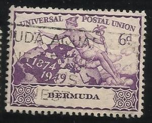 Bermuda SC 140 Used F/VF See Scan for Cancel, Centering, Perfs