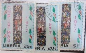 Liberia 791-3 (1977)