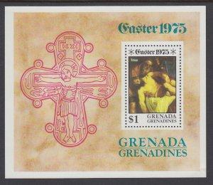 Grenada Grenadines 66 Easter Souvenir Sheet MNH VF