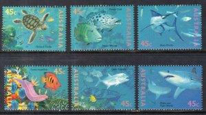 Australia 1465g-1465l Marine Life Singles MNH VF