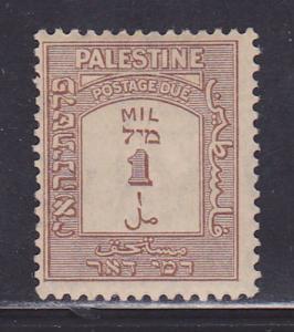 Palestine Scott #'s J12a VF-MLH  scv $ 43 ! see pic !