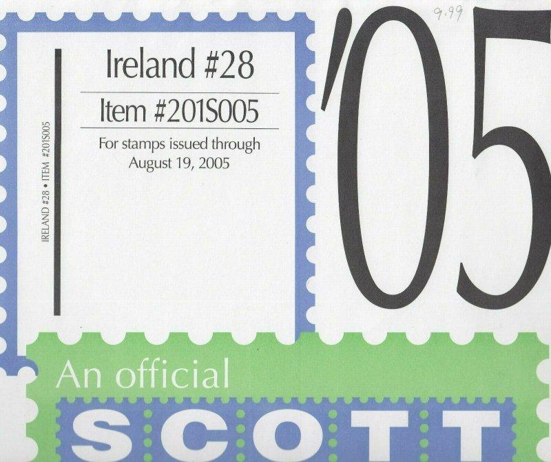 Scott Ireland Supplement #28 2005