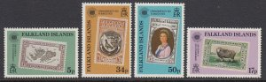 Falkland Islands 371-4 Commonwealth Day mnh