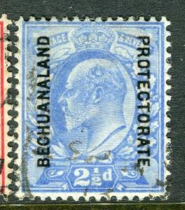 BECHUANALAND; 1904 early Ed VII issue fine used 2.5d. value