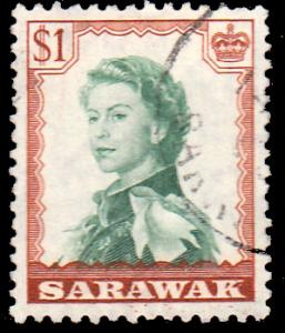Sarawak Scott 209 Used.