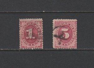 US Postal Stamps Used