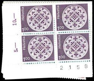 SWITZERLAND 569-79  Mint (ID # 76685)