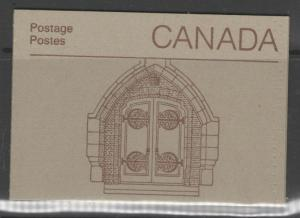 CANADA SGSB95f 1985 DOOR TO HOUSE OF COMMONS BOOKLET