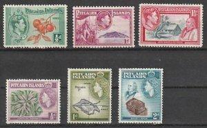 #1-3,50-22 Pitcairn Island Mint OGH
