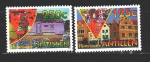 Antilles. 1995. 824-26 from the series. Carnival in Curacao. MNH.