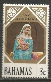 BAHAMAS 416 VFU CHRISTMAS T017-4