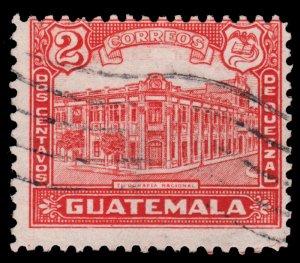 GUATEMALA STAMP 1943 SCOTT # 307. USED. # 6