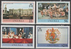 Anguilla #315-8 MNH F-VF  (ST2687)