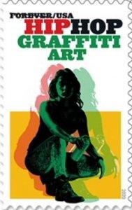 US 5482 Hip Hop Graffiti Art forever single (1 stamp) MNH 2020 after 7/15