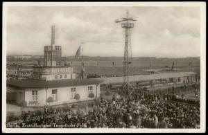 Germany 1934 Berlin Tempelhof Flughafen Airport Planes RPPC 64242