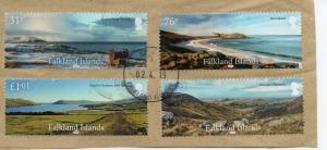 FALKLAND ISLANDS Landscapes superb  set used.