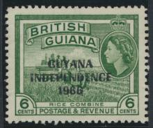 Guyana Independence 1967 SG 434 Mint Never Hinged
