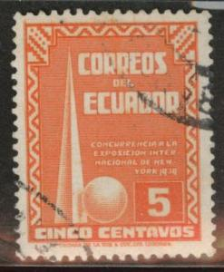 Ecuador Scott 389 used 1939  stamp
