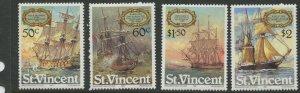 STAMP STATION PERTH St Vincent #615-618 Set  MNH CV$4.00.