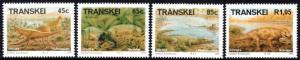 Transkei - 1993 Prehistoric Animals Set MNH** SG 301-304