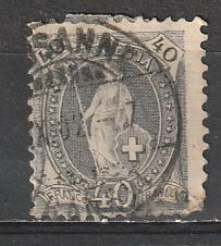 #84 Switzerland Used