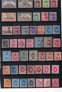 Egypt   used      around 60 early stamps
