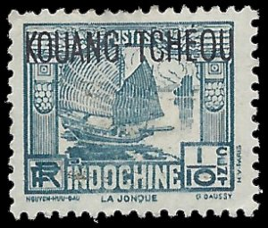 France Offices in China Kouang Tcheou 1937 #99 Mint H
