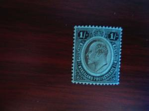 Nyasaland #1 Mint Hinged- (JB4) WDWPhilatelic