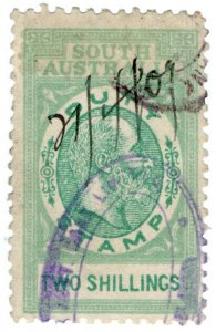 (I.B) Australia - South Australia Revenue : Stamp Duty 2/-