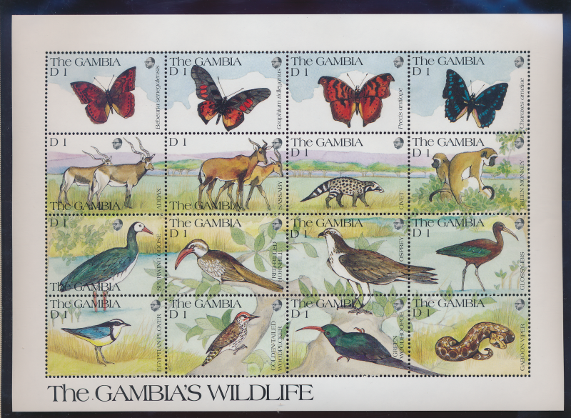 Gambia Stamps Scott #1062 To 1064, Mint Never Hinged, Three Full Sheet - Free...
