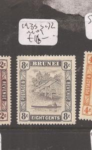 Brunei 1933 SG 72 MOG (6cdd)