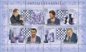 Guinea-Bissau - Chess Champions On Stamps  GB6202a