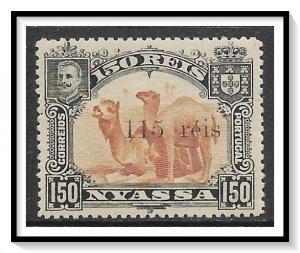 Nyassa #45 Camels Surcharged NG