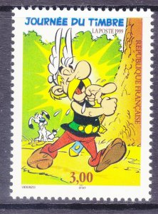 France 2706 MNH 1999 Asterix by Albert Uderzo and Rene Goscinny Issue