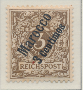 Germany, Offices In Morocco Stamp Scott #1, Mint Hinged - Free U.S. Shipping,...