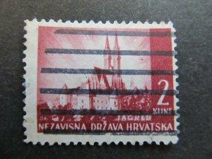 A4P24F164 Croatia 1941-43 2k used