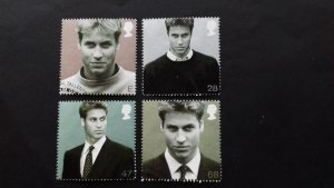 Great Britain 2003 21st Anniversary of the Birth of HRH Prince William Used