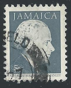 Jamaica #647 5c Prime Minister Norman Washington Manley
