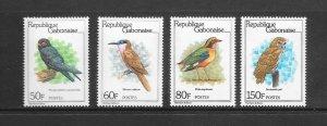 BIRDS - GABON #449-52   MNH