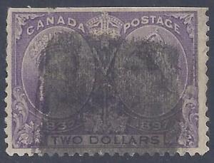 Canada Scott #62 Used