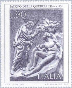 Italy 1974 Italian Artists- Jacopo Della Quercia MNH**