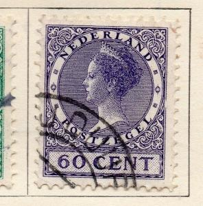 Holland 1924-29 Early Issue Fine Used 60c. 234405