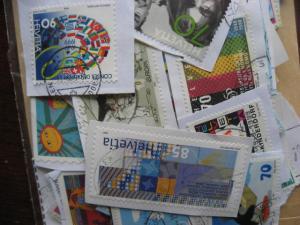Switzerland mixture of over 200 commemoratives PLZ read desc