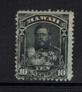 Hawaii SC# 40 - Used (Page Rem & Crease Lower Corner Perf) - Lot 032117