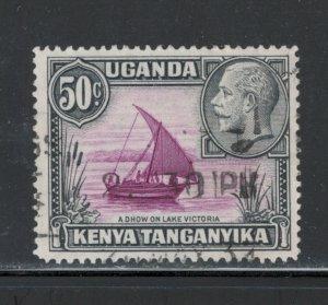 Kenya, Uganda & Tanganyika King George V 50c  Scott # 52 Used