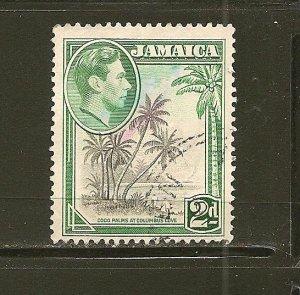 Jamaica 119 King George VI  Used