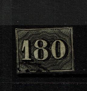Brazil SC# 26, Used, small top nick, Hinge Remnant - Lot 090317