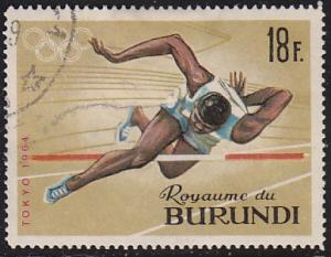 Burundi 109 XVIII Summer Olympic Games, Tokyo 1964