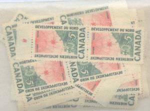 Canada - 1961 Northern Development X 100 mint #391